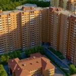 """Вид жилого квартала """"Дудергофская линия""""."""
