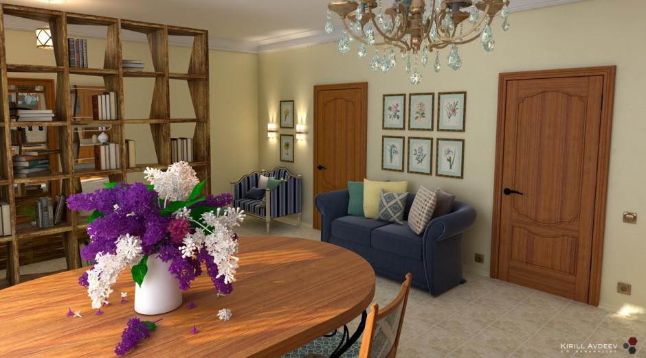 Квартира-студия. Вид 1
