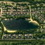 Общий вид поселка «Сад Времени»